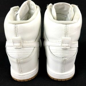 Nike Shoes - Nike Dunk Sky High Wedge White Sneaker 644877-103